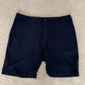 NEW Relwen Court Shorts 36 Navy